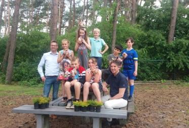 Knuffelbeesten maken leerlingen warm voor heideherstelproject